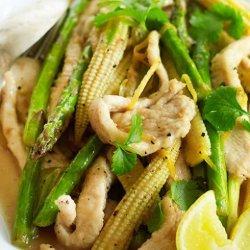 Lemon Chicken Stir Fry recipe