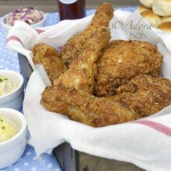 Buttermilk Oven Fried Chicken recipe