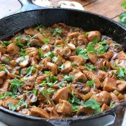Chicken Mushroom Stew recipe