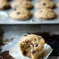 Low Fat Banana Chocolate Chip Muffins recipe