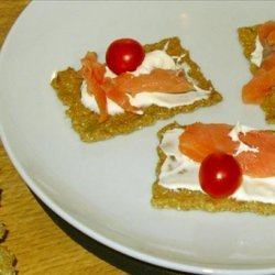 Caraway Rye Crackers recipe