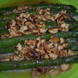 Asparagus With Toasted Walnut Butter recipe
