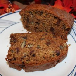 Chocolate Chip and Pecan Zucchini Loaf recipe