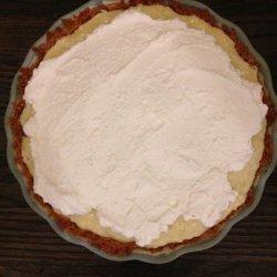 White Chocolate Coconut Cream Pie recipe