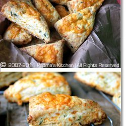 Cheddar and Chive Scones recipe