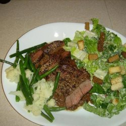 Beef Filet With Blue Cheese Sauce recipe