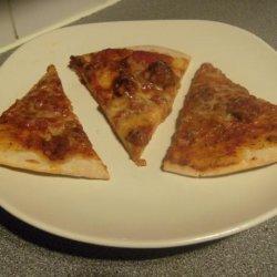 Easy Thin Crust Pizza Dough recipe