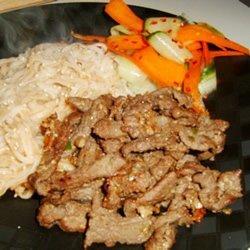 Korean Beef Stir-Fry recipe