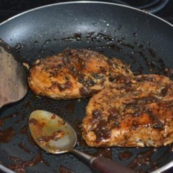 Chicken in Beer Honey Mustard Sauce recipe
