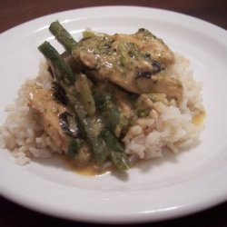 Chicken and Green Beans in Red Curry recipe