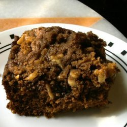 Gingerbread With Streusel Topping recipe
