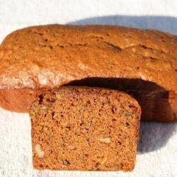 Zucchini Bread Made With Brown Sugar and Molasses recipe