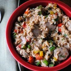 Italian Sausage and Rice recipe