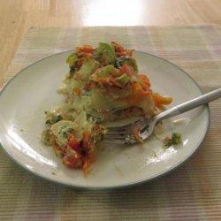 Chunky Vegetable Lasagna recipe