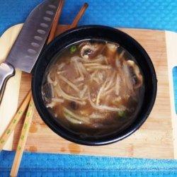 Thai Rice Noodle Miso Veg Soup recipe