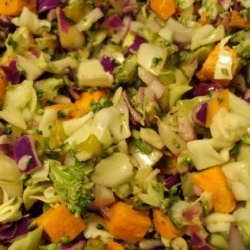 Citrus Spiked Jicama and Carrot Slaw recipe