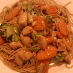 Honey Chicken W/ Veggies recipe
