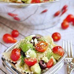 Cucumber Pasta Salad recipe