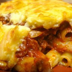 Pastitsio – Greek Baked Ziti/Lasagna recipe