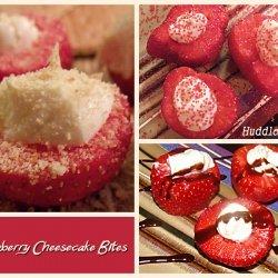 Strawberry Cheesecake Bites recipe