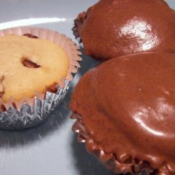 Peanut Butter Cupcakes With Chocolate Chips recipe