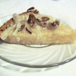 Cassava With Pecan and Coconut Jelly Toppings recipe