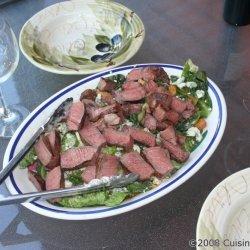 Grilled Steak Caesar Salad recipe