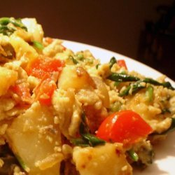 Skillet Potatoes and Eggs recipe