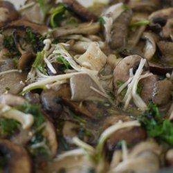 Wild Mushroom Saute recipe