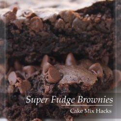 Fudge Cake Brownies recipe