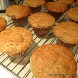 Jam-Filled Almond Muffins recipe