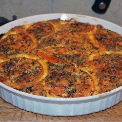 Crustless Tomato Quiche recipe