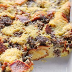Sausage and Cheese Breakfast Casserole recipe