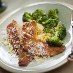 Parmesan Crusted Tilapia recipe