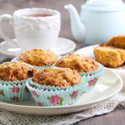 Carrot Raisin Muffins recipe