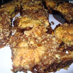 Toffee Coffee Chocolate Caramel Bars recipe