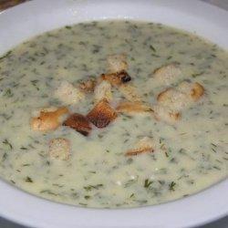 Croatian Dill Soup recipe