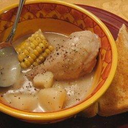 Chicken, Corn, and Potato Stew recipe