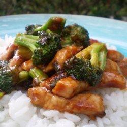 Pork With Broccoli and Hoisin Sauce recipe