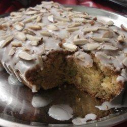 Zucchini Almond Cake recipe