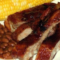 Dad's Mouth-Watering Barbecue Pork Ribs recipe