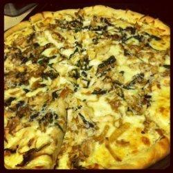 Ranch Alfredo Chicken Pizza #RSC recipe