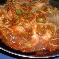 Mediterranean Shrimp Toss recipe