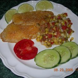 Kim's Tilapia With Maque Choux recipe