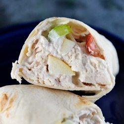 Chicken Salad Wraps recipe