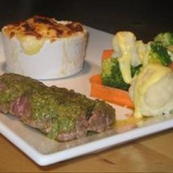 Ostrich Fillet Steaks With Cafe De Paris Butter recipe