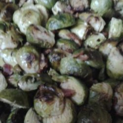 Brussels Sprouts With Bacon and Walnuts recipe