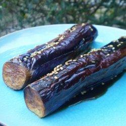 Eggplant With Sesame Sauce recipe