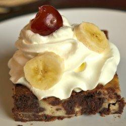 Banana Split Brownies recipe