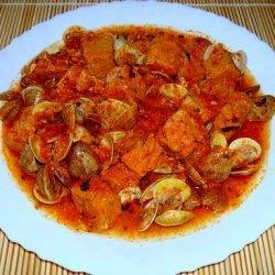 Pork With Clams (Lombo De Porco Com Ameijoas) recipe